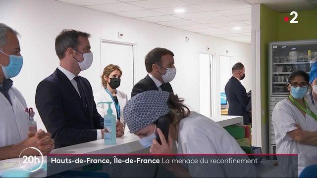 Covid-19 : menace d'un reconfinement dans les Hauts de France et l'Ile-de-France
