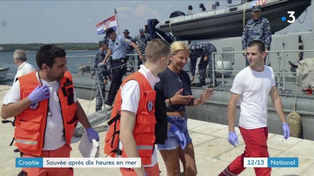 Croatie : une touriste sauvée après 10 heures en mer