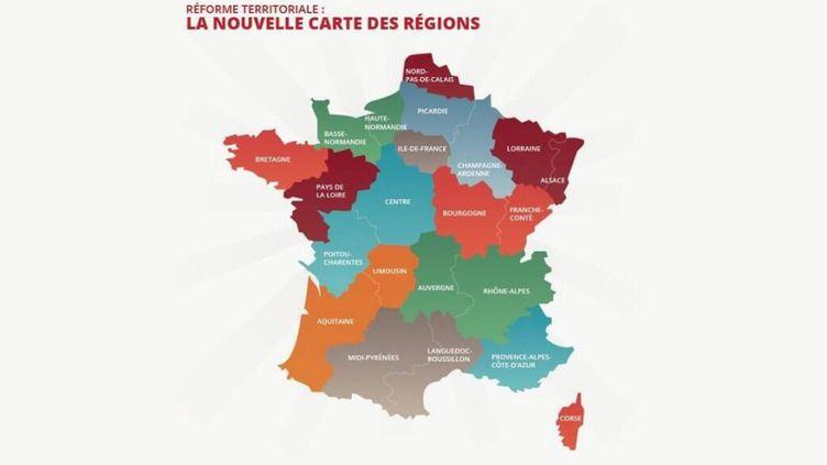 Le député Carlos da Silva a proposé, lundi 7 juillet, sa version de la France à 14 régions. (CARLOS DA SILVA)