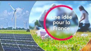 """""""Une idée pour la France"""" : une nouvelle rubrique du journal de 13 heures de France 2. (FRANCE 2)"""