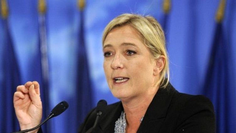 Marine Le Pen veut lutter contre le descenseur social (AFP - Eric Feferberg)