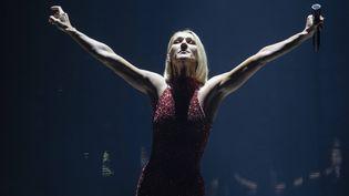Céline Dion en tournée à Québec, le 19 septembre 2019 (JACQUES BOISSINOT / AP / SIPA)