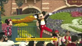 Disneyland à Shanghai a rouvert (FRANCEINFO)