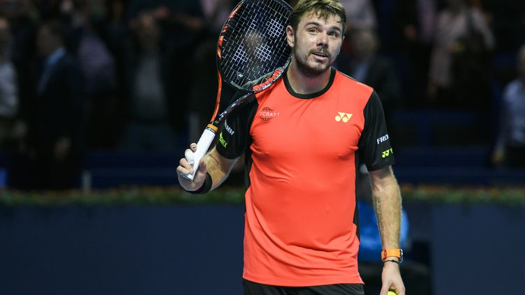 Le joueur suisse Stan Wawrinka (FABRICE COFFRINI / AFP)