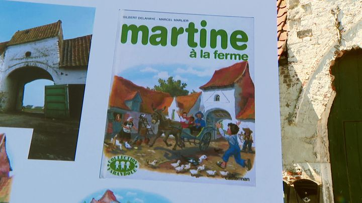 """""""Martine à la ferme"""", le premier album d'une longue série (France 3 Hauts-de-France)"""