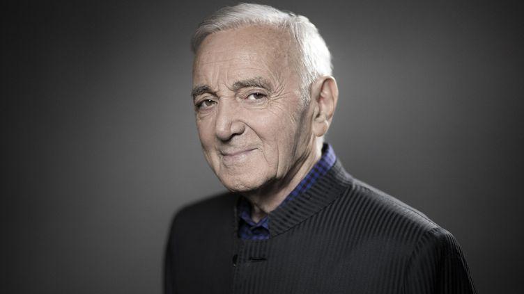 Charles Aznavour est décédé dans la nuit du 30 septembre au 1er octobre 2018, à l'âge de 94 ans. (JOEL SAGET / AFP)
