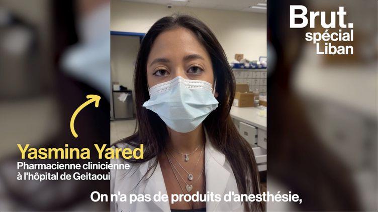 """VIDEO. Liban : """"On doit choisir à quel patient donner le médicament selon la gravité"""" (BRUT)"""