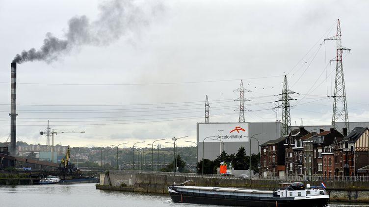 Le site d'ArcelorMittal à Liège (Belgique), le 18 septembre 2012. (ERIC LALMAND / BELGA)