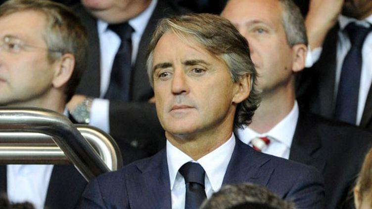 L'entraîneur italien Roberto Mancini