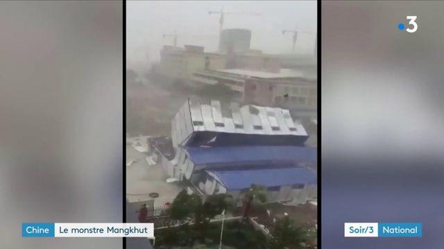 La Chine victime du super typhon Mangkhut