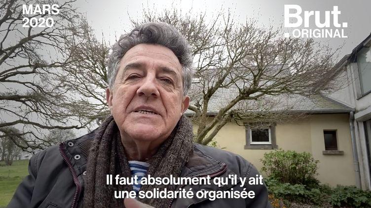 """VIDEO. """"Nous sommes peut-être à la veille d'une cause majeure d'un effondrement plus large"""", estime Yves Cochet (BRUT)"""