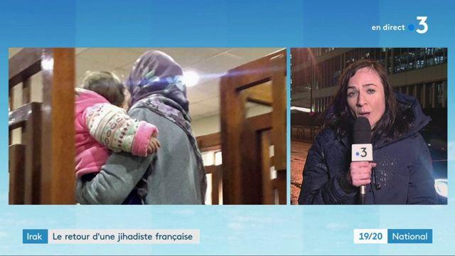 Irak : une jihadiste française expulsée d'Irak vers la France