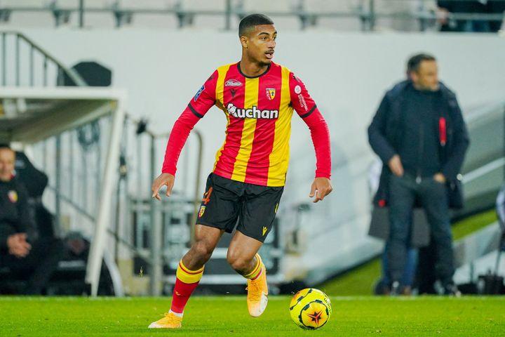 Loïc Badé s'est engagé avec le Stade Rennais jusqu'en 2026. (JEROEN MEUWSEN / AFP)