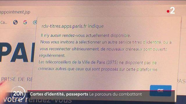 Papiers d'identité : les délais pour renouveler sa carte d'identité ou son passeport ont doublé dans certaines villes