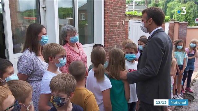 Hauts-de-France : Emmanuel Macron en visite à Poix-de-Picardie