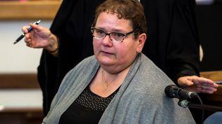 Dominique Cottrez à la cour d'assises de Douai (Nord), le 25 juin 2015. (PHILIPPE HUGUEN / AFP)