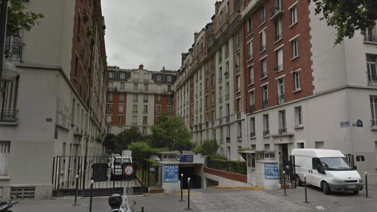 La résidence du 17e arrondissement de Paris,où réside l'élu UMP Geoffroy Boulard. (GOOGLE STREET VIEW)