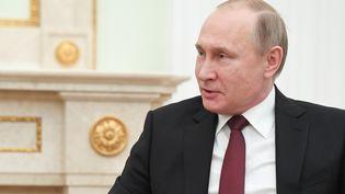 Le président russe Vladimir Poutine à Moscou, la capitale de la Russie, le 27 février 2019. (GRIGORY SYSOEV / SPUTNIK / AFP)