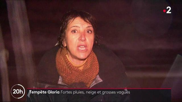 Tempête Gloria : fortes intempéries et grosses vagues attendues