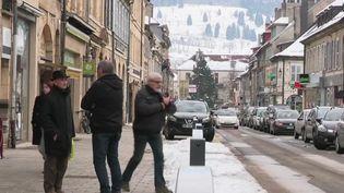 Pontarlier, dans le Doubs, vient d'être désignée comme la championne de France des petites villes actives. (France 2)