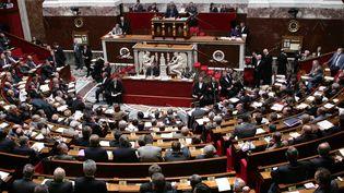 Les députés dans l'hémicycle de l'Assemblée nationale, en décembre2012. (JACK GUEZ / AFP)