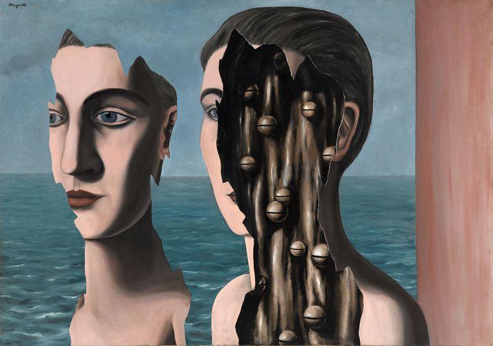 """René Magritte, """"Le Double Secret"""", 1927, Centre Pompidou, Musée national d'art moderne, Paris, achat 1980  (Coll. Centre Pompidou, Musée national d'art moderne / Photo : Georges Meguerditchian © ADAGP, Paris 2016)"""