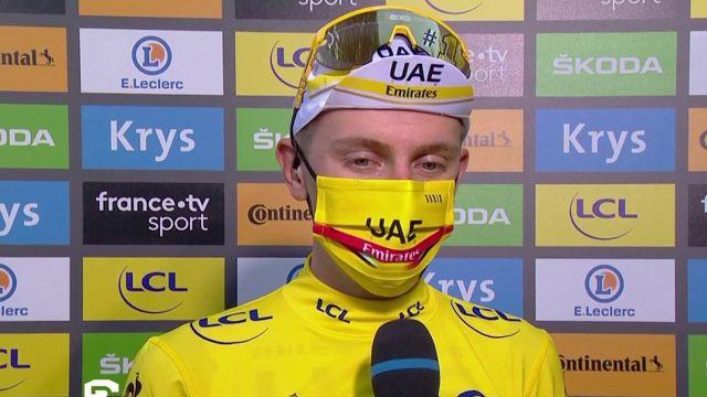 Le maillot jaune est heureux de sa nouvelle victoire sur le Tour de France et exprime sa réticence au fait d'être comparé à Eddy Merckx.