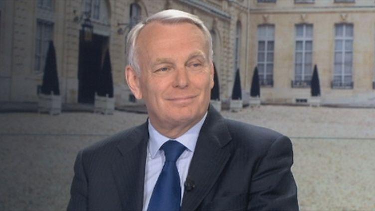 Jean-Marc Ayrault, invité du JT de France 2, le 16 mai 2012. (FTV)