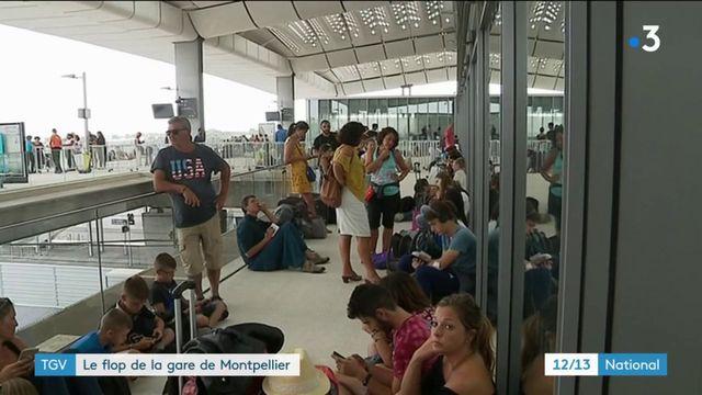 TGV : la nouvelle gare de Montpellier est décriée par les usagers