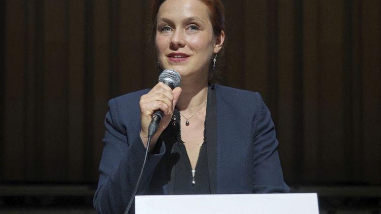 La maire de Poitiers (Vienne), Léonore Moncond'huy, le 3 juillet 2020. (GUILLAUME SOUVANT / AFP)