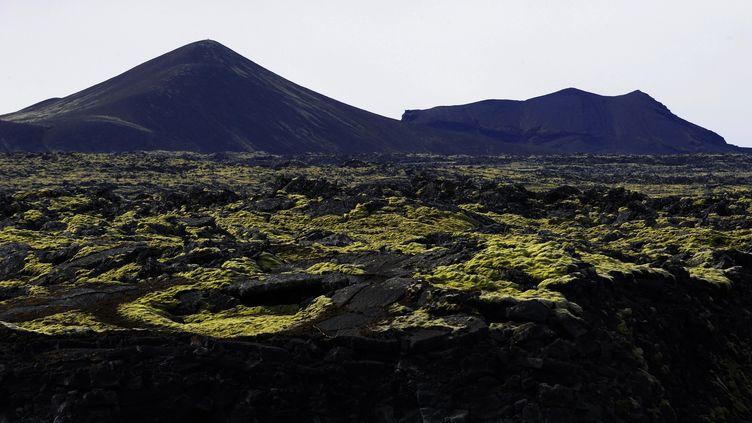 La région volcanique près de Grindavik (Islande). Photo d'illustration. (OLIVIER MORIN / AFP)