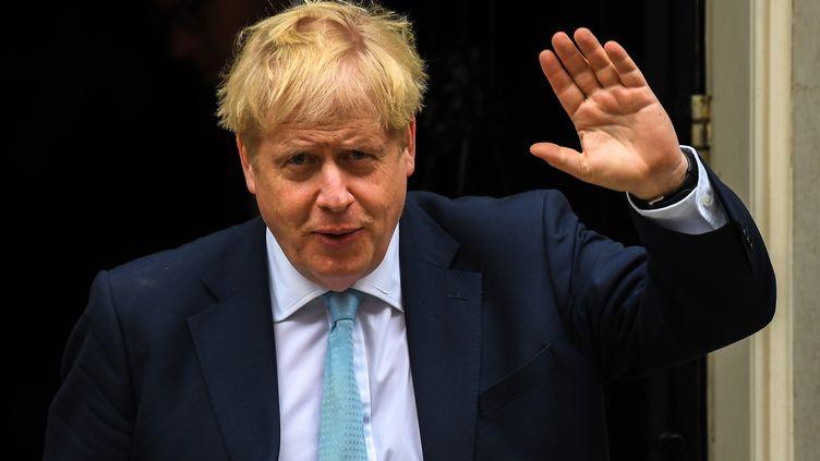 Le Premier ministre britannique Boris Johnson, le 3 octobre 2019 à Londres. (ALBERTO PEZZALI / NURPHOTO / AFP)