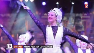 Une danseuse du Cabaret Royal Palace. (FRANCE 2)