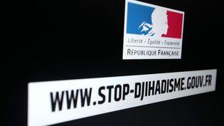 """Valérie de Boisrolin, l'une des trois personnes mises en examen dans cette affaire, a participé à """"Stop jihadisme"""", la campagne du gouvernement pour lutter contre la radicalisation. (JOEL SAGET / AFP)"""