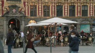 Couvre-feu : dernière soirée avant la fermeture des restaurants à 21 heures (Capture d'écran France 2)
