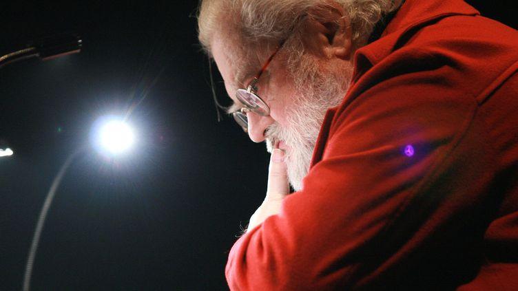 Le compositeur Pierre Henry en mars 2008, Cité de la Musique  (Leemage / AFP)