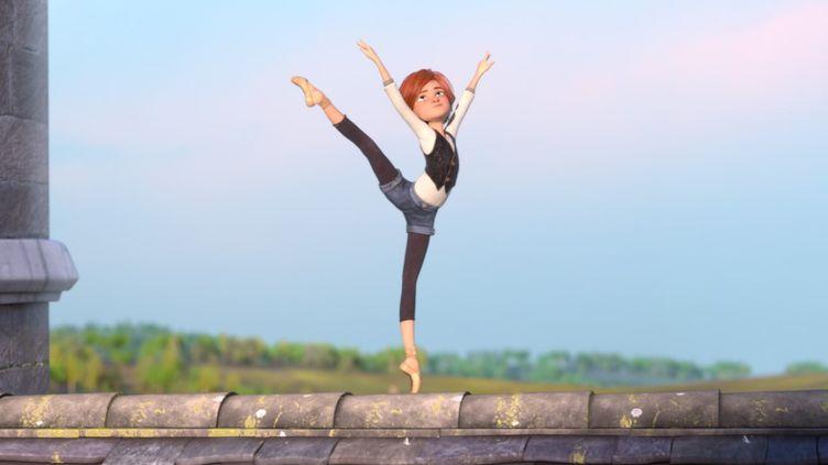 """Dans """"Ballerina"""", la jeune orpheline Félicie n'a qu'une passion : la danse.  (Gaumont Distribution)"""