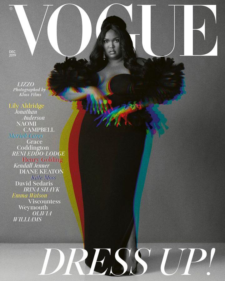La couverture du numéro de décembre 2019 du Vogue Magazine britannique. (DR)