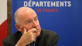 Dominique Bussereau, le président de l'Association des départements de France, est l'un des signataires de la lettre envoyée au président de la République. (JACQUES DEMARTHON / AFP)