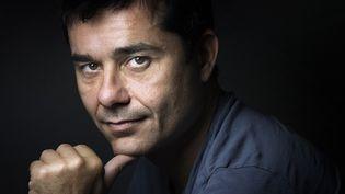 Laurent Binet le 8 juillet 2015 à Paris  (Joël Saget / AFP)