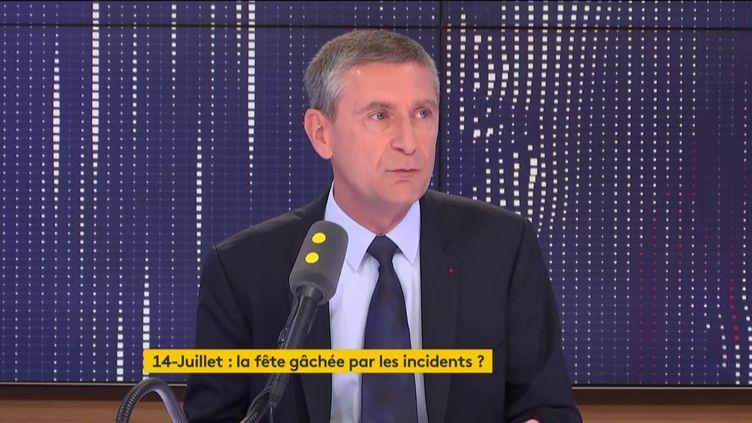 Frédéric Péchenard, vice-président Les Républicains de la région Île-de-France. (FRANCEINFO / RADIOFRANCE)