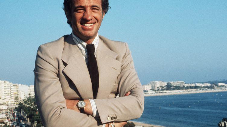 Jean-Paul Belmondo en mai 1974 au Festival de Cannes (- / AFP)
