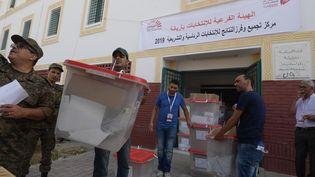 Sept millions d'électeurs sont appelés à choisir dimanche 15 septembre leur président de la République. (FETHI BELAID / AFP)