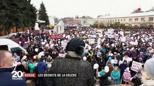 Russie : des habitants se mobilisent contre la mise en place d'une déchetterie géante