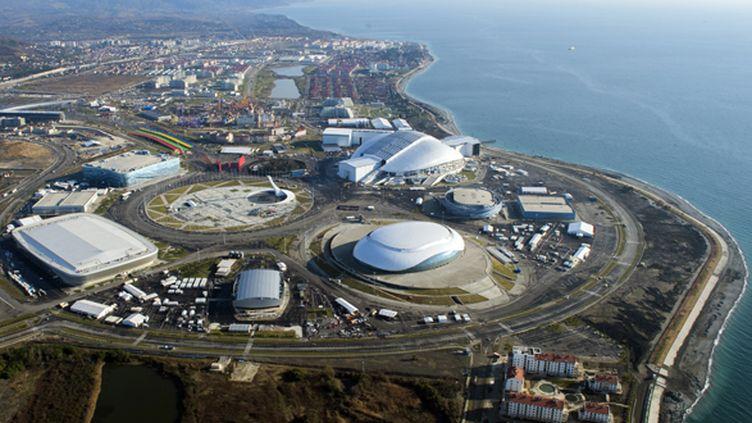 Le parc olympique de Sotchi 2014 (SERGEY GUNEEV / RIA NOVOSTI)