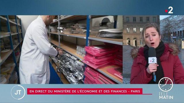 Coronavirus : réunion d'urgence à Bercy pour aider les entreprises