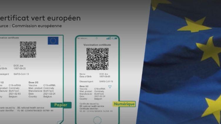 certificat européen (FRANCEINFO)
