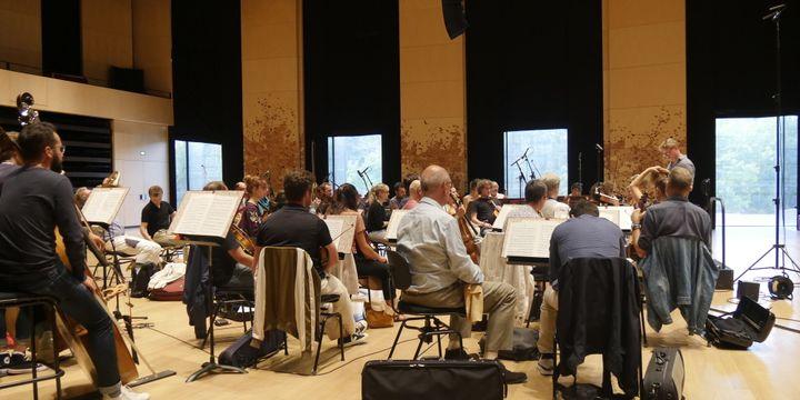 Répétitions de l'Orchestre de chambre de Paris, septembre 2018.  (LCA/Culturebox)