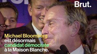 VIDEO. Ancien ami de Donald Trump, il veut désormais être son adversaire… Qui est Michael Bloomberg ? (BRUT)