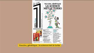 Vaccins, génétique : la science met le turbo 17 janvier 2021 (CAPTURE ECRAN / OUVREZ LE 1 / FRANCEINFO (CANAL 27))
